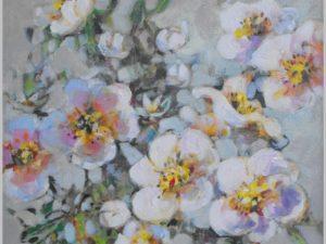 Alicja Pochopień-Kuźniarz obraz kwiaty