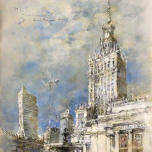 Alicja Pochopień-Kuźniarz obraz warszawa pałac kultury